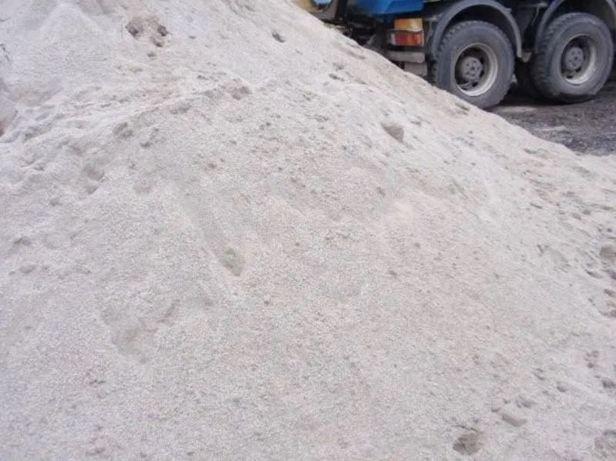Piasek płukany [0-2 mm] - piasek do tynków, wylewek, zapraw