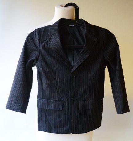 Garnitur Czarny Paski Lindex 122 cm 7 lat Paseczki Elegancki Zara