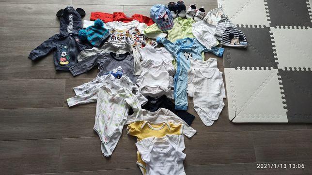 Paka ubranek niemowlęcych 74