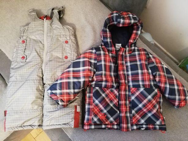 Sprzedam kurtkę i spodnie zimowe coccodrillo 80