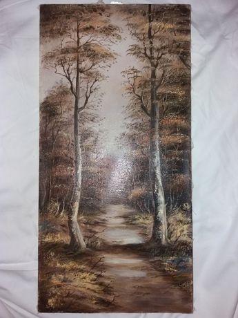 """Картина """"прогулка неведомой тропой"""""""