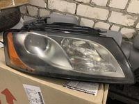 Правая фара Audi A5 8T, галоген. Оригинал Valeo.