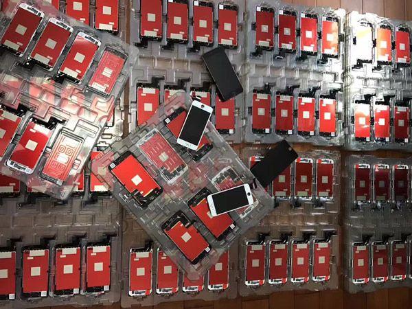 Wyświetlacz szybka ekran iPhone wymiana 6 6S 7 8 Plus X XS MAX 11 Warszawa - image 1
