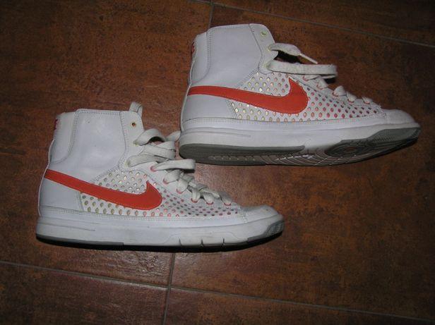 Хайтопы кроссовки кеды кожаные для девочки подростка Nike Оригинал