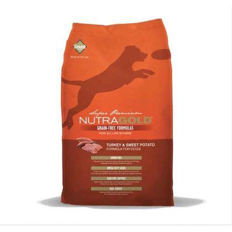 Nutragold Grain Free Peru/Batata 13,6Kg