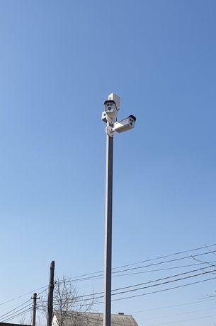 Установка монтаж видеонаблюдение домофон контроль доступа Wi-Fi dahua