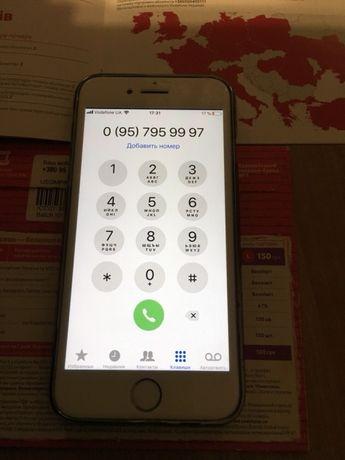Продам красивый Vip номер, золотой номер Vodafone с документами
