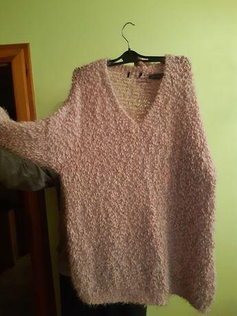 sweter bardzo duzy