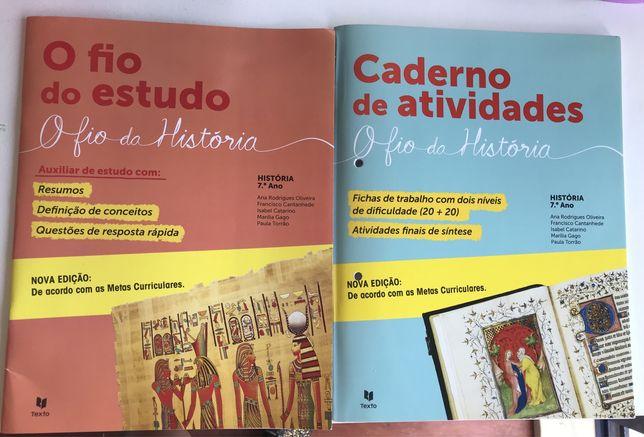 O Fio da História 7 - Caderno de Atividades e Auxiliar de Estudos