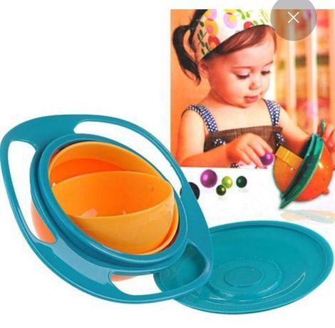 Тарелка непроливайка, детская тарелка, Guro bowl. На подарок.