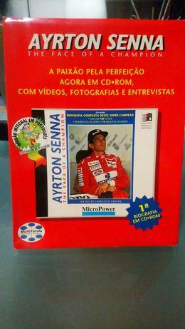 Ayrton Senna Biografia CD-ROM