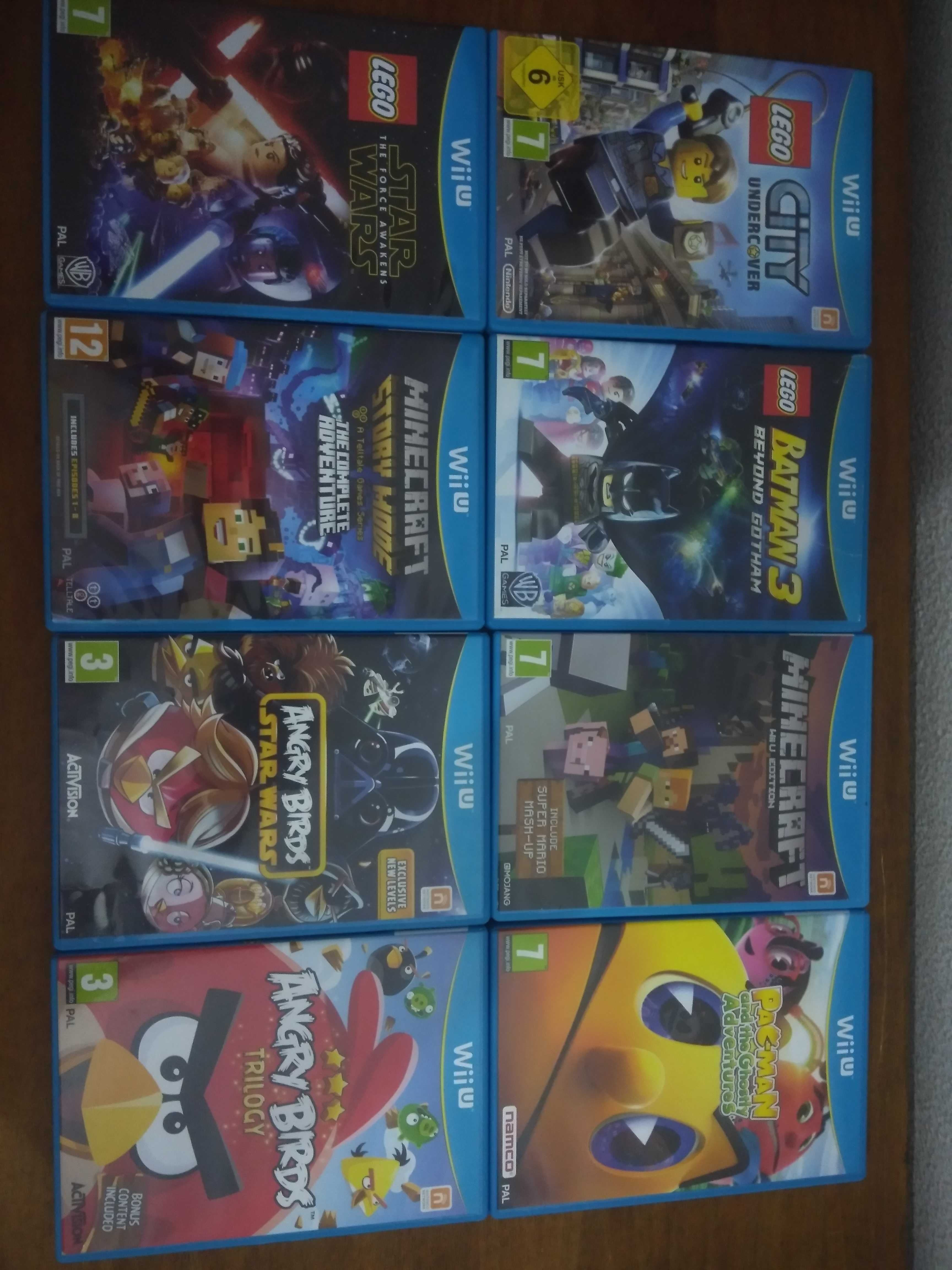 Jogos Wii U Legend of Zelda, Super Mario, Sonic, Lego, Minecraft