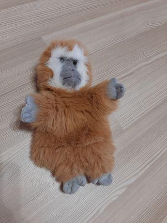 Мягкая плюшевая игрушка на руку обезьяна