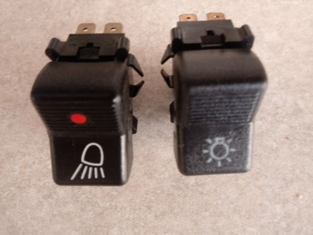 Włącznik klawiszowy świateł do kolekcji KOMFORT