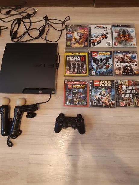 PS3 + dodatkowe gry
