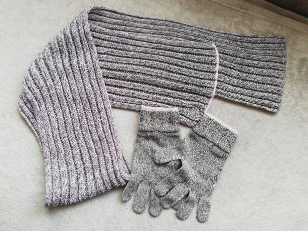 Adidas szalik i rękawiczki komplet
