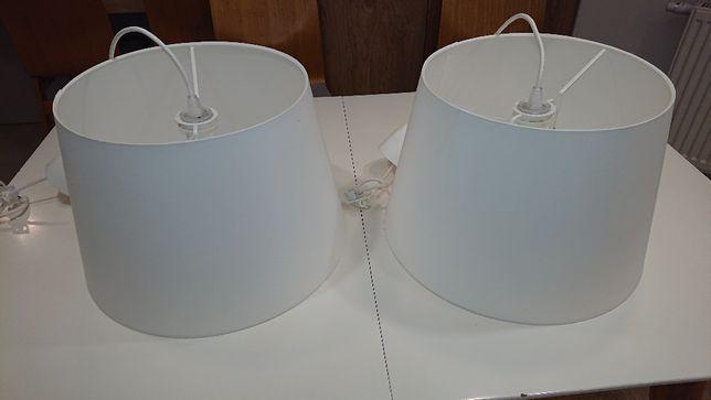 Lampy wiszące Ikea Jara 2 szt. białe.