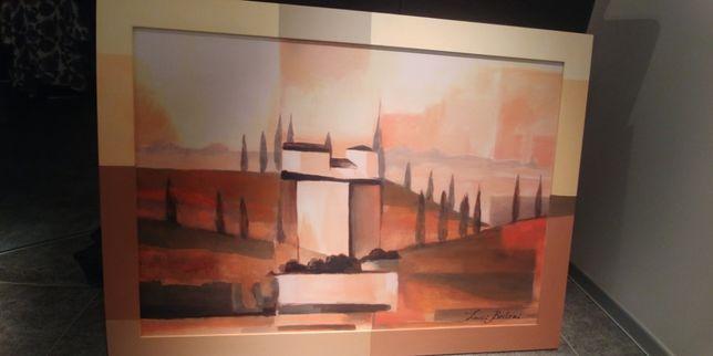 Reprodukcja obrazu Luici Bertoni Toskania 118x82 cm