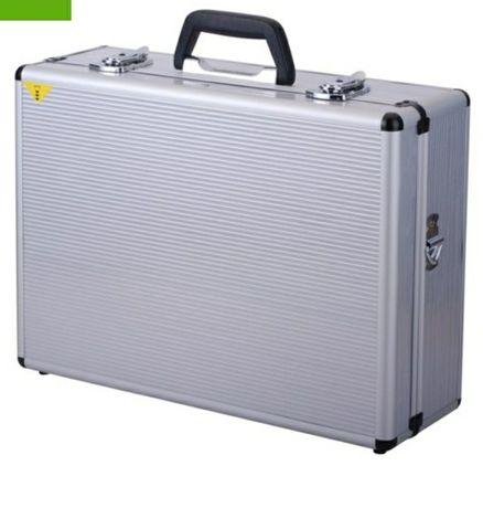 Кейс алюминиевый, чемодан для инвентаря, оборудования. Размер 46х33х15