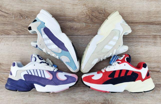 Подростковые кроссовки Adidas Falcon Yung (New Balance, Balenciaga)