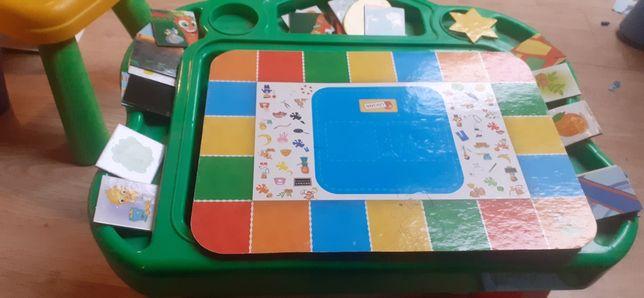Stolik edukacyjny dla dziecka,  gry ,zabawy