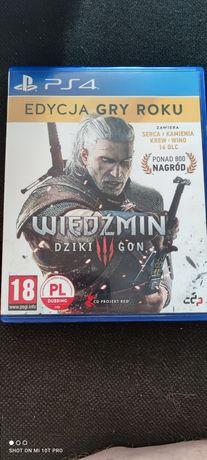 Wiedźmin 3 Edycja Gry Roku Ps4 PlayStation 4 PL