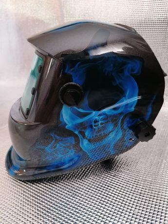 Máscara de soldar automática nova