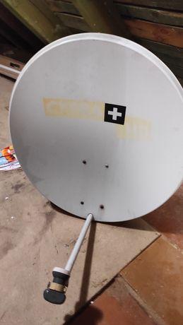 Antena satelitarna Cyfra + 80cm z 2 uchwytami