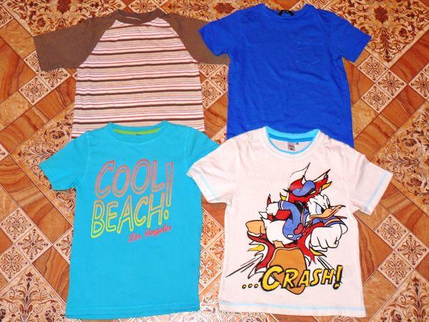 Крутые футболки на мальчика 122-128р