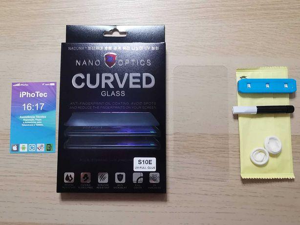 Pelicula de vidro Samsung S10e / S10 / S10 Plus UV Liquid 3D Curvo
