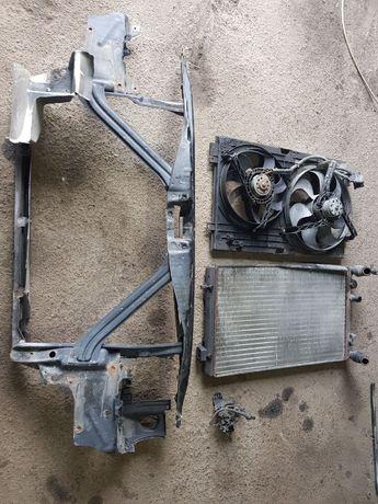 Радиатор телевизор вентилятор охлаждения Seat Leon сеат леон разборка