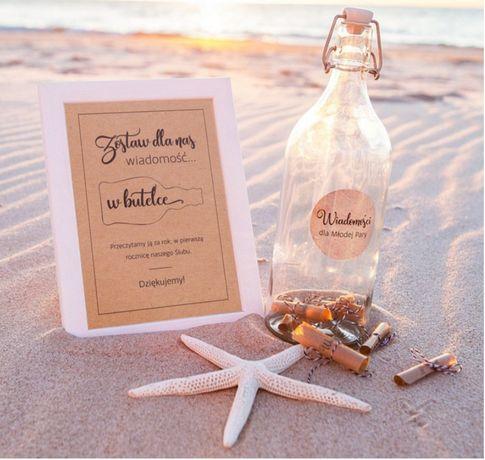 Księga gości - List w butelce
