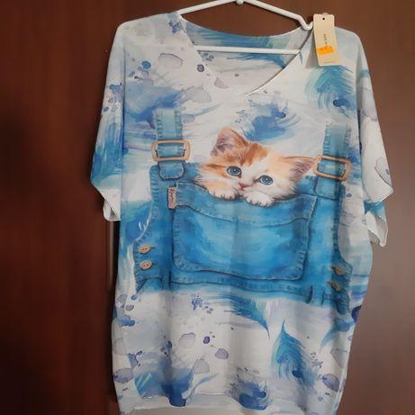 Bluzka kotki
