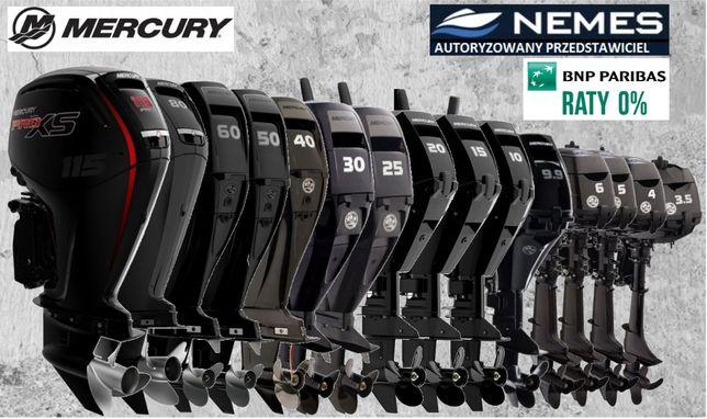 SILNIK ZABURTOWY MERCURY wszystkie modele, autoryzowany dealer Nemes