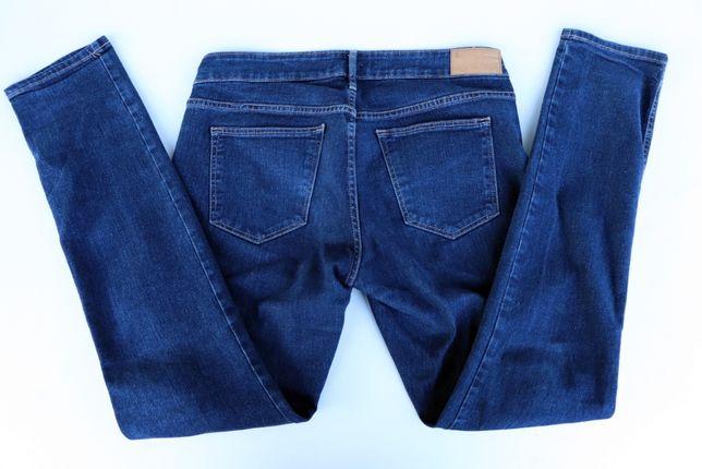 Spodnie damskie jeansy H&M niski stan 31/32 (165/78A)