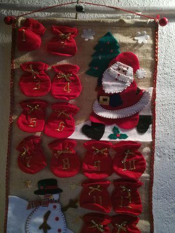 Адвент календарь, сапог для подарков