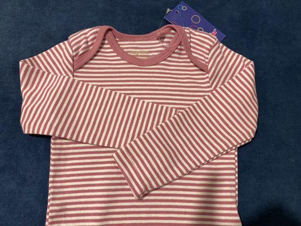 NOWE Body niemowlęce 74-80 cm dla dziewczynki