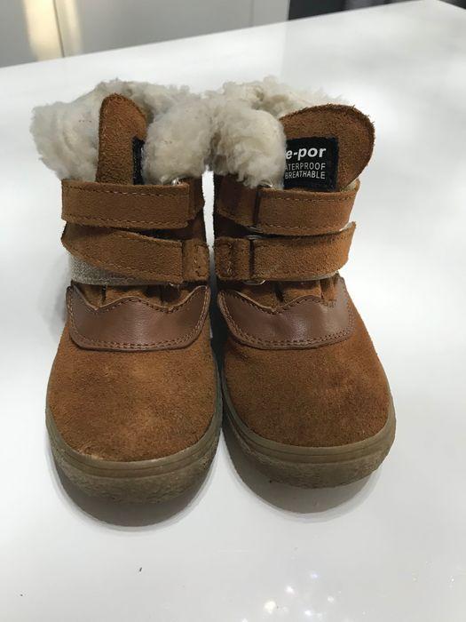 MRUGAŁA - skórzane buty zimowe Syców - image 1