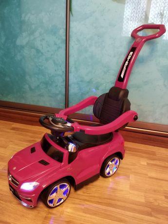 Машинка-каталка-толкар Mercedes для дівчинки