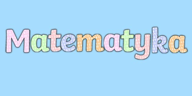 Korepetycje matematyczne