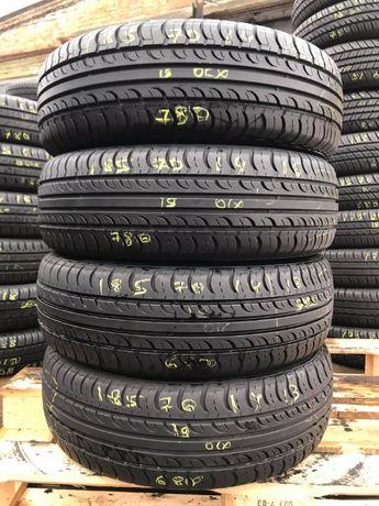 Літні шини 185/70 R14 Hankook Optimo K415, 4шт, 2019рік, 6.5мм, Korea