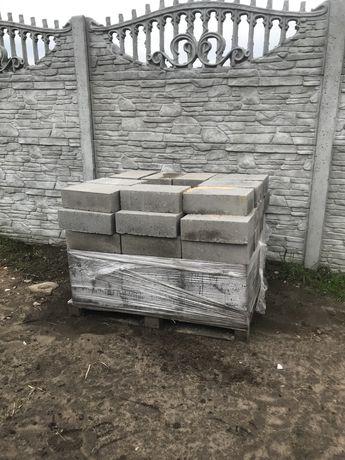 Bloczki fundamentowe, betonowe 70 sztuk