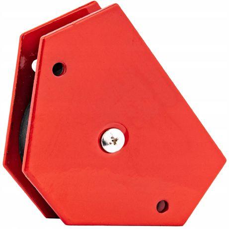 Magnetyczny kątownik uchwyt spawalniczy 11,5kg 6-k [SPA73]