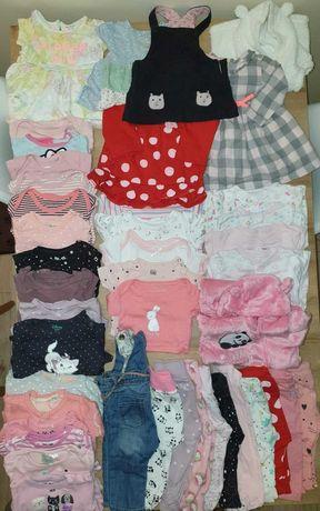 Mega paka zestaw ubranek dla dziewczynki r. 68 H&M, Cool Club, 5-10-15