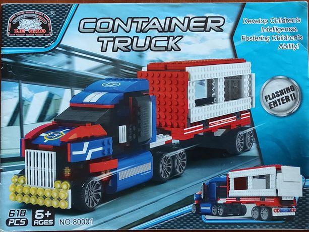 Большой грузовик, конструктор Лего.