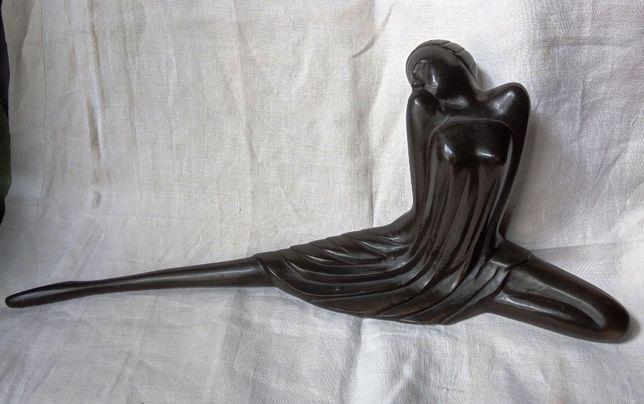 Figura Artística Mulher Bronze
