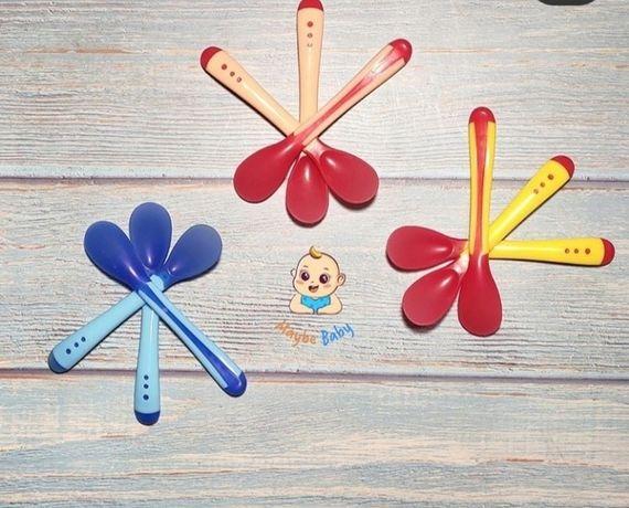 Ложечка силиконовая для малышей