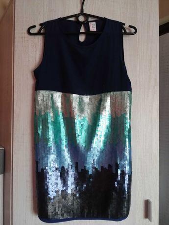 Cekinowa bluzka/tunika dziewczęca 158 cm Reserved