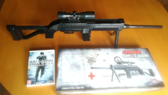 Call of Duty World of War WII + Sniper Shot Gun