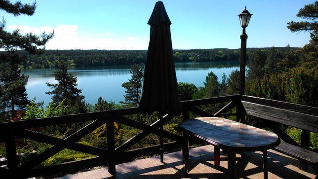 Kaszuby wynajem dom letniskowy nad jeziorem noclegi, łódka, kajak